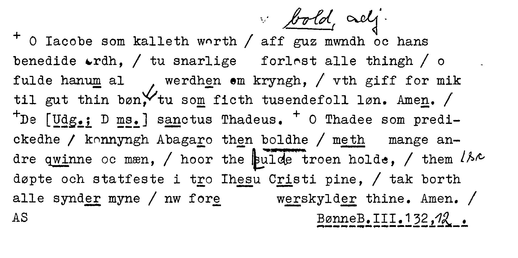 gammel dansk ordbog